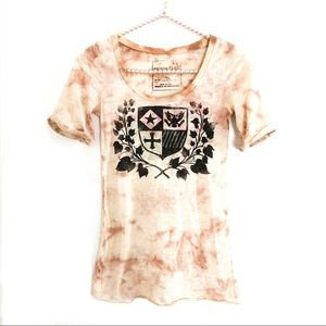 FREE PEOPLE  We The Free Graphic Burnout Tee